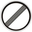 Дорожный знак 3.31 «Конец зоны всех ограничений»